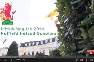 Introducing the Nuffield Ireland 2014 Scholars