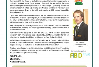 Nuffield Ireland Newsletter May 2015