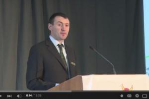 Seamus O'Mahony – 2013 Scholar