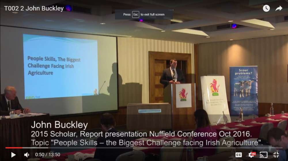 john buckley scholar nuffield